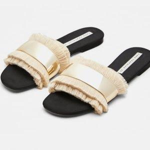 Shoes - ZARA Trafaluc Slide Sandals